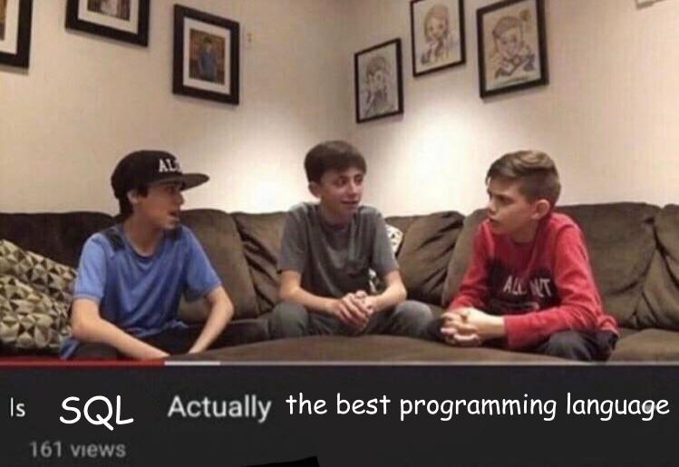 SQL meme