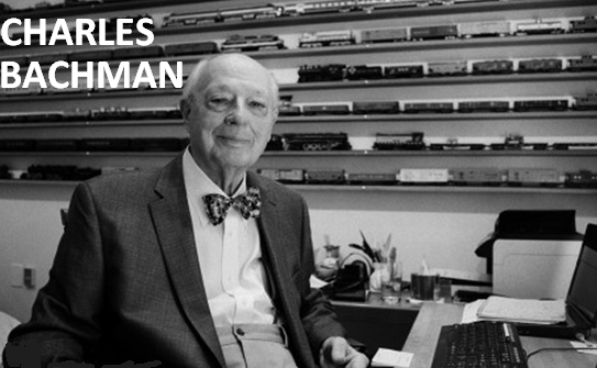 Charles Bachman - inventor of the the database management system
