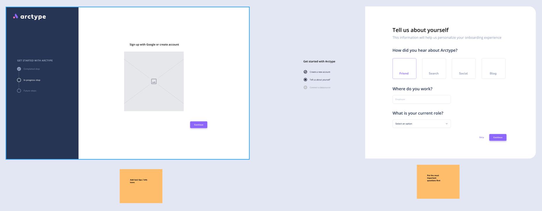 Arctype UI