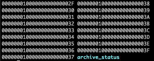 PostgreSQL WAL Log Folder
